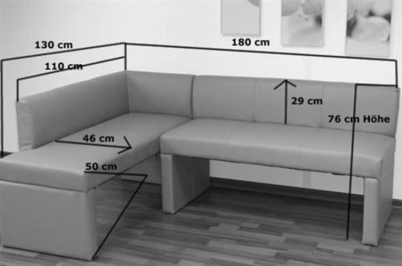 sam esszimmer eckbank recyceltes leder braun toulouse ii. Black Bedroom Furniture Sets. Home Design Ideas