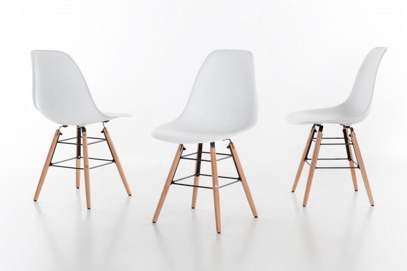 sam esszimmer schalenstuhl helsinki wei buche. Black Bedroom Furniture Sets. Home Design Ideas