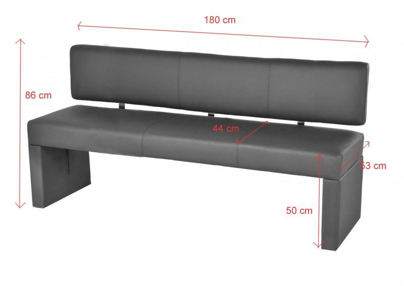 sam esszimmer sitzbank recyceltes leder muddy 180 cm sina. Black Bedroom Furniture Sets. Home Design Ideas