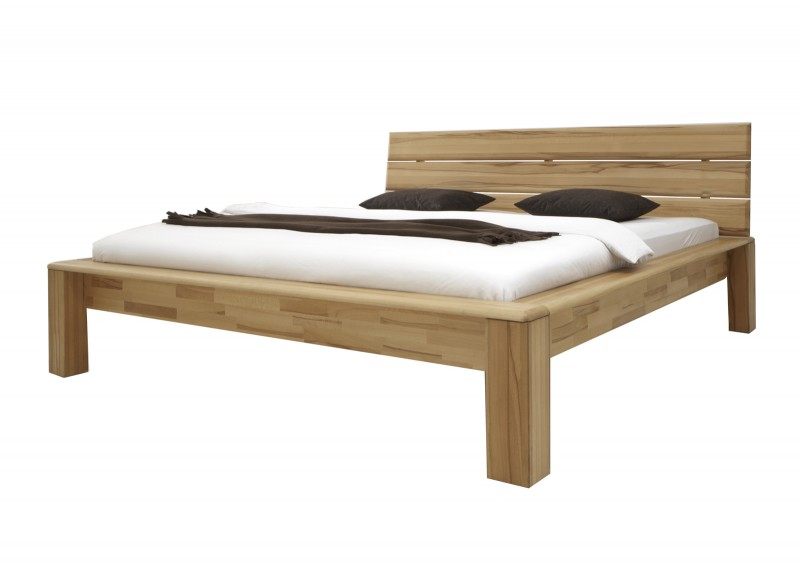 sam holzbett 140 x 200 cm kernbuche sofia g nstig. Black Bedroom Furniture Sets. Home Design Ideas