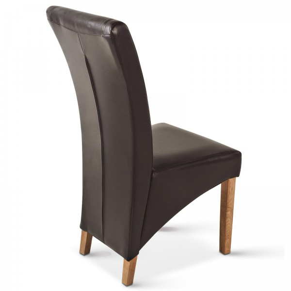 stuhl braun leder stuhl buffalo leder braun sam stuhl leder braun eiche rindsleder baltasar. Black Bedroom Furniture Sets. Home Design Ideas