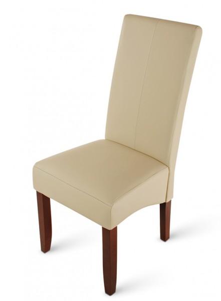 sam polster stuhl recyceltes leder creme kolonial ziernaht luiz demn chst. Black Bedroom Furniture Sets. Home Design Ideas