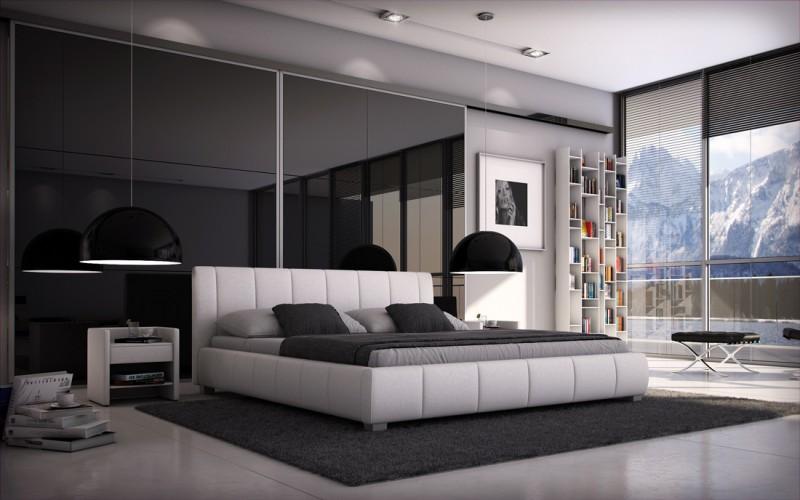 sam polsterbett 160 cm wei lumo g nstig. Black Bedroom Furniture Sets. Home Design Ideas