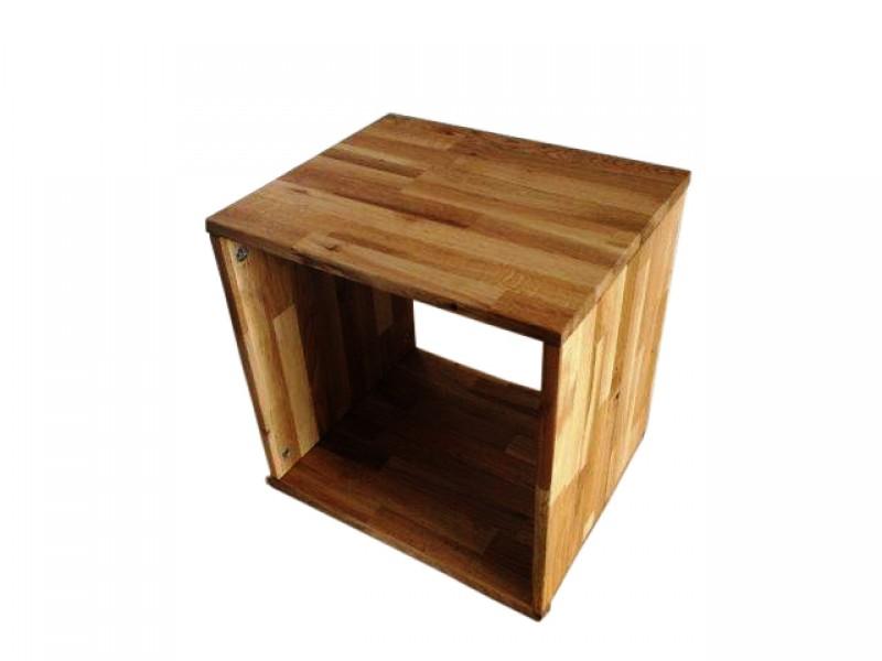 sam regal wildeiche ge lt 1 fach cube g nstig. Black Bedroom Furniture Sets. Home Design Ideas