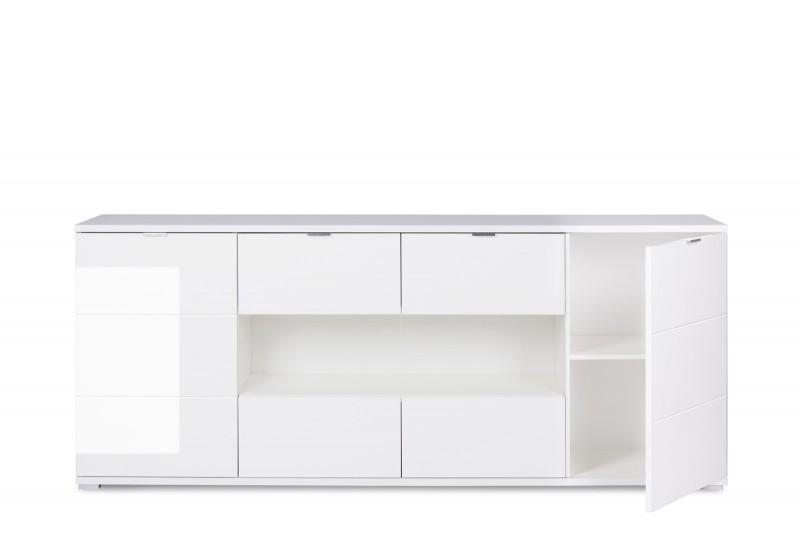 sam sideboard holz 200 x 85 cm glossy 5 g nstig. Black Bedroom Furniture Sets. Home Design Ideas