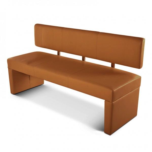sam sitzbank 180 cm recyceltes leder cappuccino sander. Black Bedroom Furniture Sets. Home Design Ideas