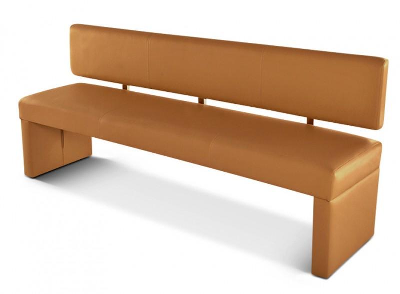 sam sitzbank 200 cm recyceltes leder cappuccino sander. Black Bedroom Furniture Sets. Home Design Ideas