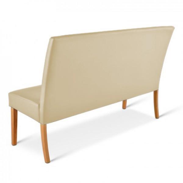 sam sitzbank creme buche 200 cm recyceltes leder roma. Black Bedroom Furniture Sets. Home Design Ideas