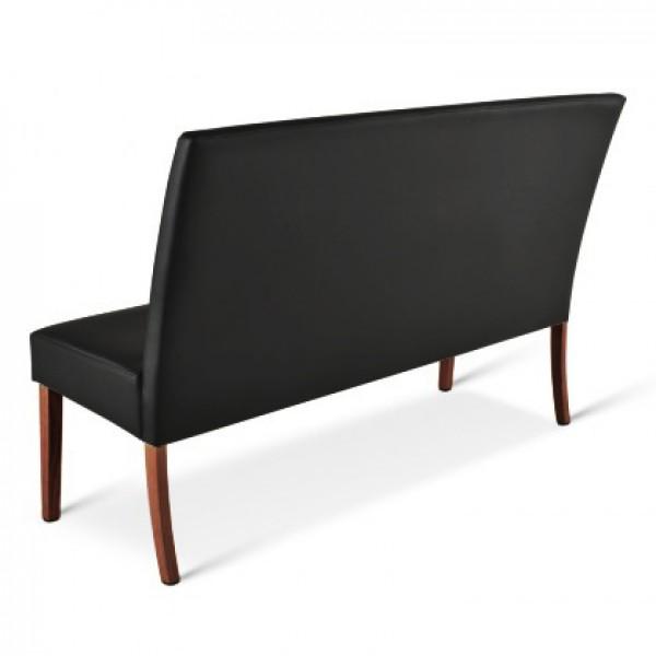 sam sitzbank schwarz kolonial 200 cm recyceltes leder stefano demn chst. Black Bedroom Furniture Sets. Home Design Ideas