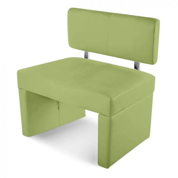 sam sitzbank sesto 80 cm recyceltes leder lemon green. Black Bedroom Furniture Sets. Home Design Ideas