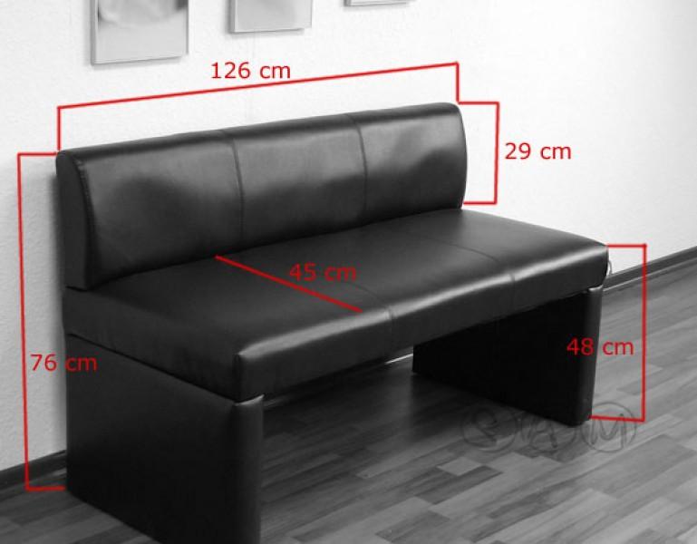sam sitzbank toulouse 126 cm recyceltes leder braun. Black Bedroom Furniture Sets. Home Design Ideas