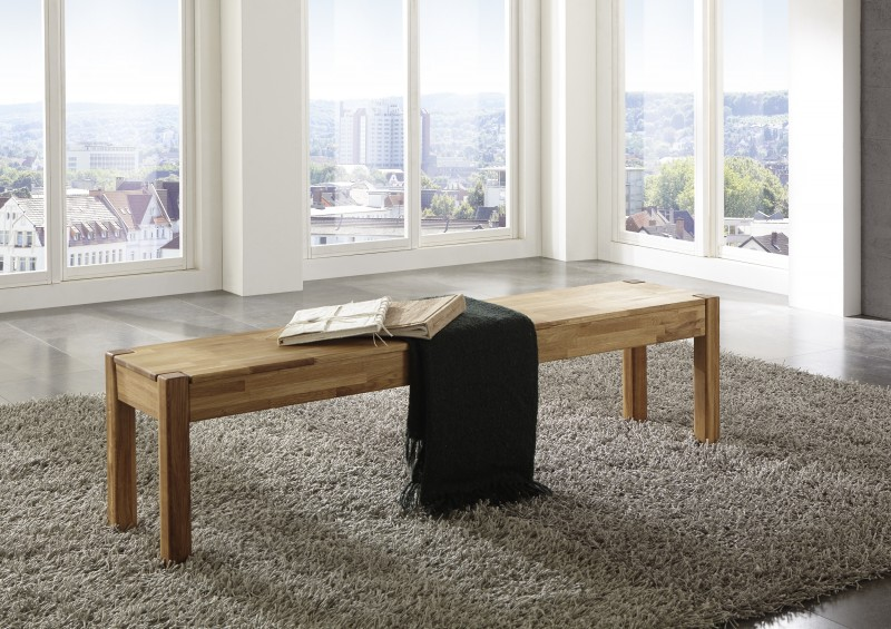 sam sitzbank wildeiche massiv ge lt 140 x 33 cm egon. Black Bedroom Furniture Sets. Home Design Ideas