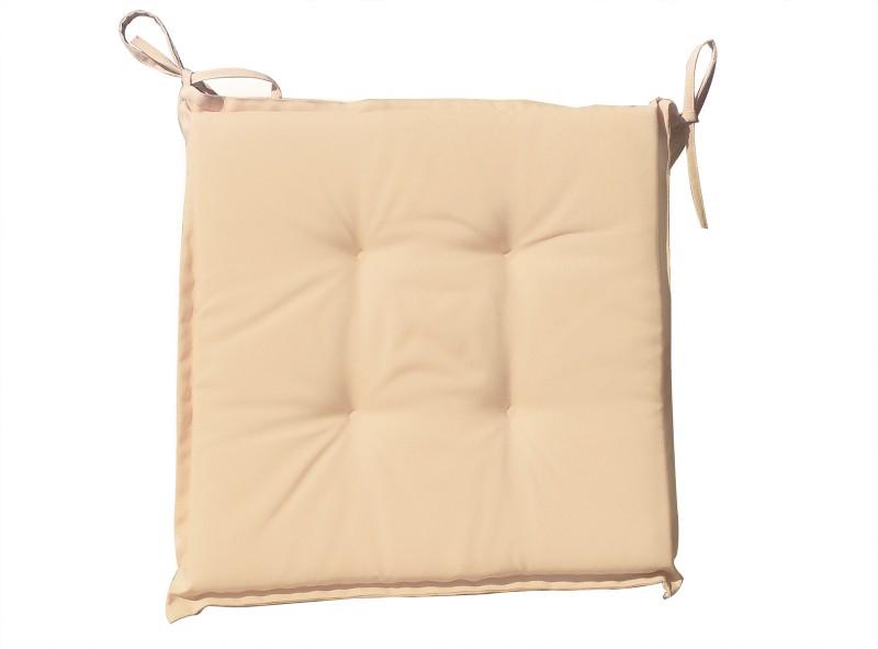 SAM® Sitzkissen 40x40cm Für Klappstühle Beige