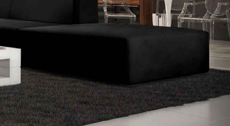 sam® wohnzimmer hocker passend zur couch amare schwarz