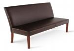 sam esszimmerbank mit lehne 200 cm braun recyceltes leder florenz. Black Bedroom Furniture Sets. Home Design Ideas