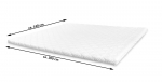 SAM® Topper 140 x 200 Viscoschaumtopper Matratzenauflage 5 cm