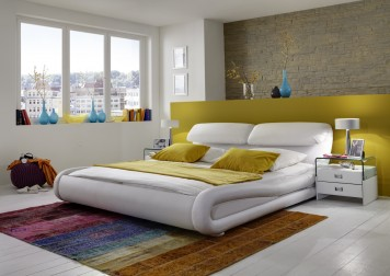 sam design polsterbett luna 200 cm weiss auf lager. Black Bedroom Furniture Sets. Home Design Ideas
