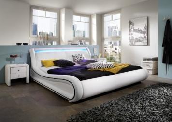 sam polsterbett 140 cm clip led farbauswahl bestellware. Black Bedroom Furniture Sets. Home Design Ideas
