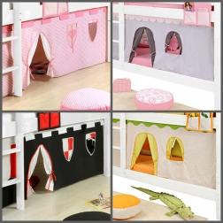 SAM® Vorhänge für Kinderbetten in verschiedenen Varianten