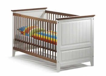 SAM® Babybett in weiß Kiefer massiv 70 x 140 cm JULIA