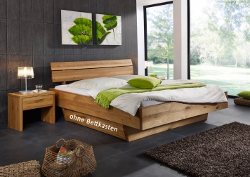 sam massivholzbett oliver i wildeiche schubk sten 200x200 cm auf lager. Black Bedroom Furniture Sets. Home Design Ideas