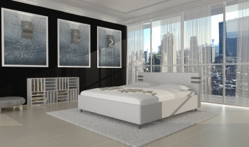 sam design polsterbett 180 x 200 cm wei maze bestellware. Black Bedroom Furniture Sets. Home Design Ideas