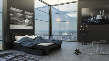 sam massivholzbett 140 x 200 cm buche wenge mit bettk sten julia demn chst. Black Bedroom Furniture Sets. Home Design Ideas