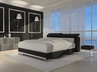 sam design boxspringbett 180 x 200 cm schwarz wendigo luciano bestellware. Black Bedroom Furniture Sets. Home Design Ideas