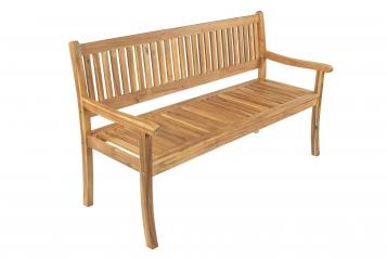 SAM® Gartenbank Akazie 157 cm 3-Sitzer mit Rückenlehne FRENCH Demnächst !