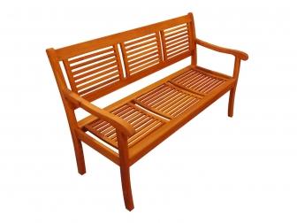 SAM® Gartenbank Akazie 150 cm 3-Sitzer Sitzbank CORUNA