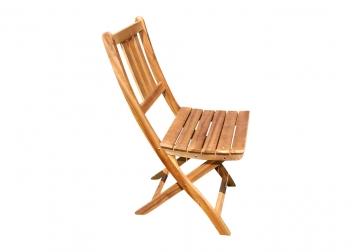 SAM® Balkonstuhl Gartenstuhl aus Akazienholz Klappstuhl BLOOM
