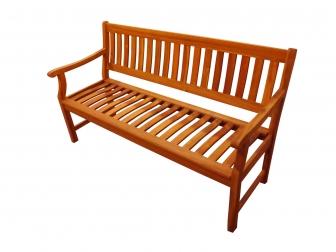 sale gartenbank akazie fsc 157 cm 3 sitzer new delhi auf. Black Bedroom Furniture Sets. Home Design Ideas