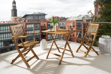 sam b ware 20 balkonm bel set 3tlg 62 x 62 cm akazie holz cameron. Black Bedroom Furniture Sets. Home Design Ideas