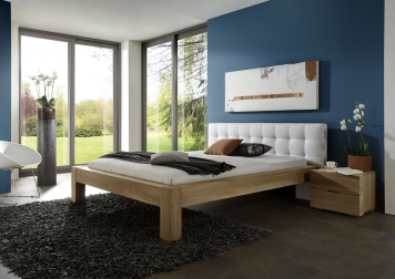 sale massivholzbett 140 x 200 cm g nstig buche massiv select auf lager. Black Bedroom Furniture Sets. Home Design Ideas