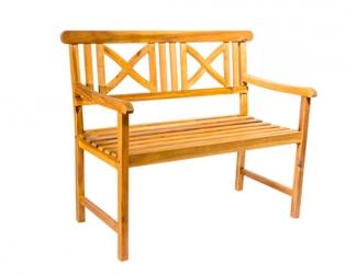 SAM® Gartenbank Akazie 110 cm 2-Sitzer Sitzbank RIDOS Auf Lager !