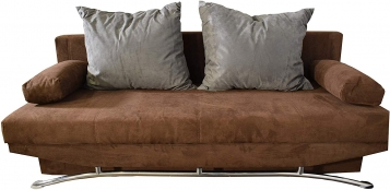 Schlafsofa braun Sofa 202 cm PEPE