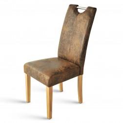 Sam polster stuhl wildleder optik buche dermulo auf lager for Stuhl wildleder