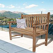 SAM® Teak 2 Sitzer Gartenbank 120 cm Java