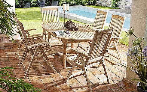 Gartengruppen - Platz für Familie und Freunde