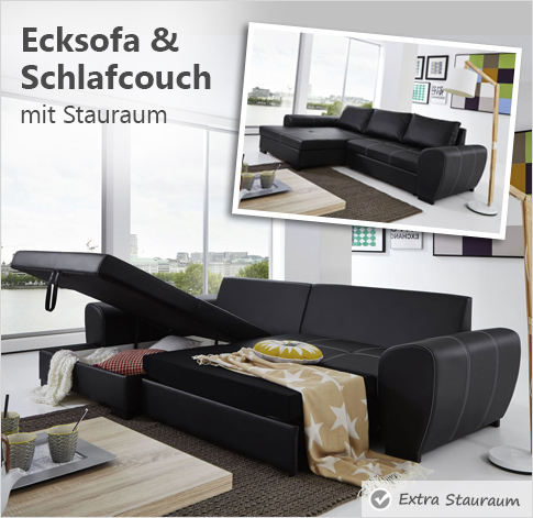 schlafsofas zum tr umen funktional schick. Black Bedroom Furniture Sets. Home Design Ideas