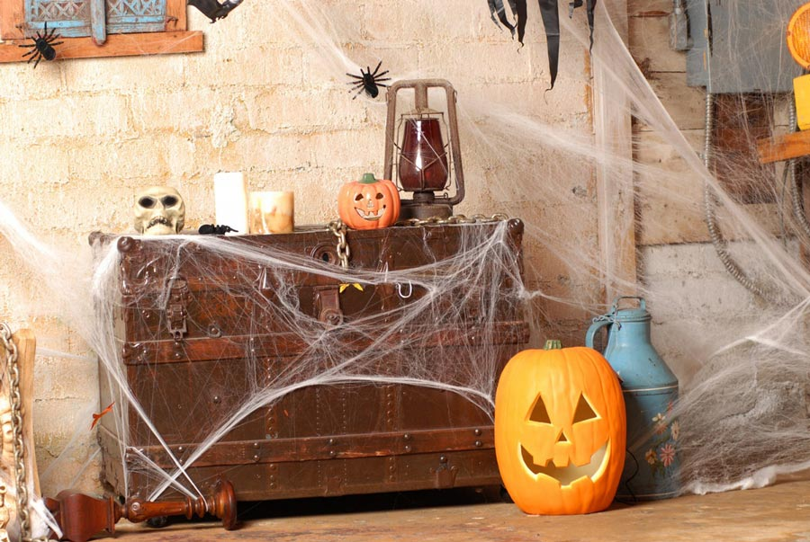 halloween-deko für zuhause - zuhause bei sam® - Halloween Deko Wohnzimmer