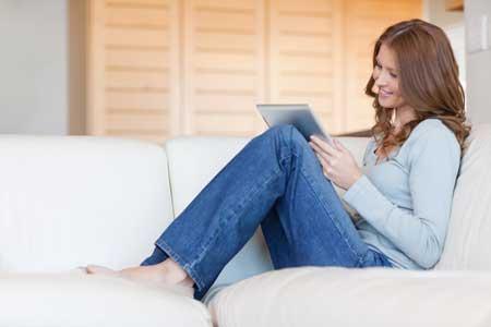 Hochwertige Bezugsstoffe garantieren angenehmen Sitzkomfort