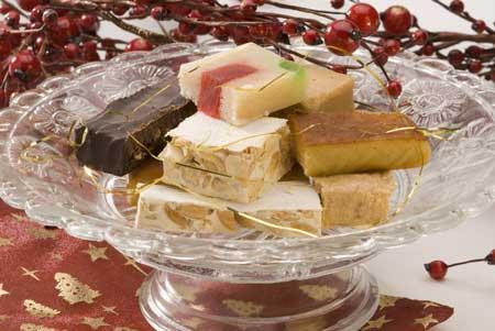 Turrón, Marzipan und andere Leckereien gehören zur spanischen Weihnacht