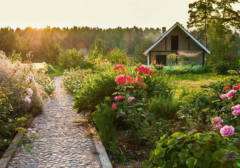 gestaltungstricks: den garten in räume einteilen - zuhause bei sam®, Hause und garten