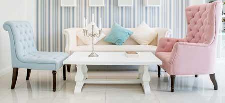 Mehrere Sessel Anstatt Sofa Bieten Freiraum Bei Der Einrichtung