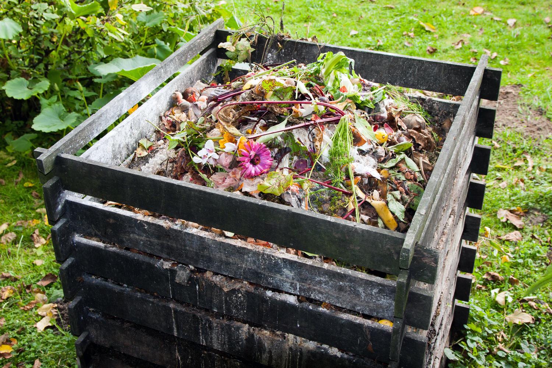 kompost anlegen richtige pflege garten | actof, Garten dekoo