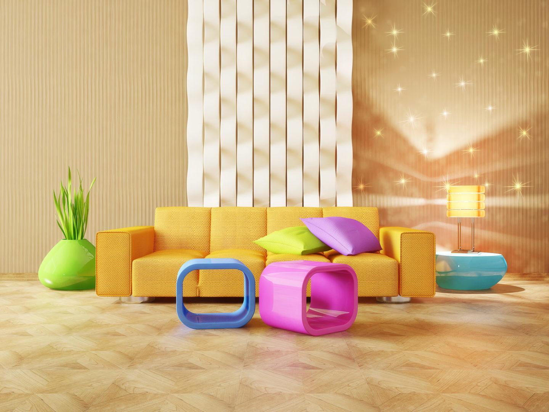Farbgestaltung im Wohnzimmer - Zuhause bei SAM®