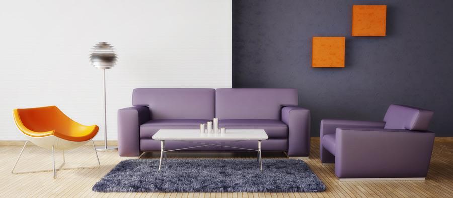 farbgestaltung im wohnzimmer - zuhause bei sam® - Wohnzimmer Orange Weis