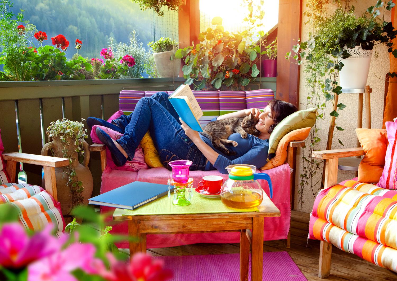 Feng-Shui auf dem Balkon - Zuhause bei SAM®