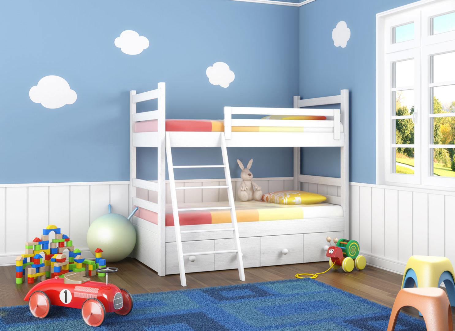 Kleines Kinderzimmer einrichten - eine große Herausforderung ...